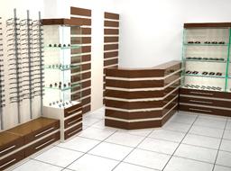 Мебель для салона оптики