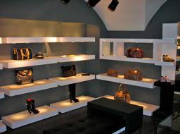 Мебель для обувного магазина