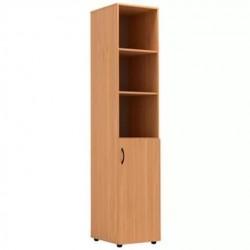 Шкаф узкий полуоткрытый 430 x 450 x 2010 (Серия В)