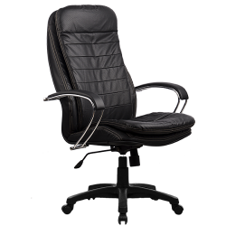 Кресло руководителя Metta LK-3 (пятилучье — пластик)