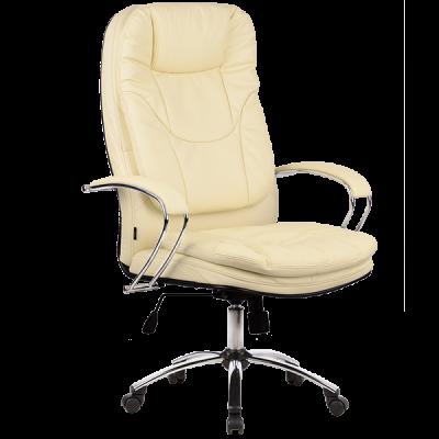 Кресло руководителя Metta LK-11 (пятилучье — хром)