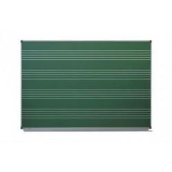 Доска аудиторная разлинованная ДК 11Э1510 Н 1500х1000, мел.,магнит.,нотный стан (Серия В)