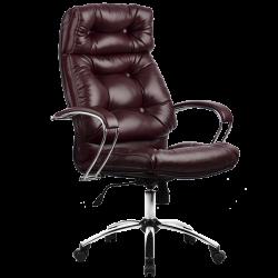 Кресло руководителя Metta LK-14 (пятилучье — хром)
