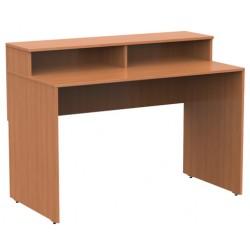 Стол кафедра для выдачи книг 1200 x 620 x 900-750 Серия В