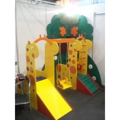 Домашний игровой комплекс «Жирафы со счетами»