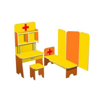 """Больничка """"Витаминка"""" (набор детской игровой мебели) (Серия РТ)"""