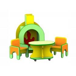 Игровая зона «У камина» для детей (Серия РТ)