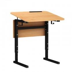 Стол 1-местный регулир. высота и наклон столешницы 0-10° (гр 2-4) Серия В