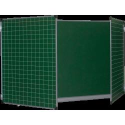 Доска аудиторная разлинованная ДК 32Э3010 КЛ 3000х1000, мел., магнит., клетка/линейка (Серия В)