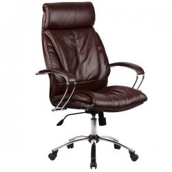 Кресло руководителя Metta LK-13 (пятилучье — хром)