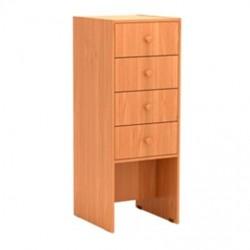 Шкаф для читательских формуляров 430 x 490 x 1150 Серия В
