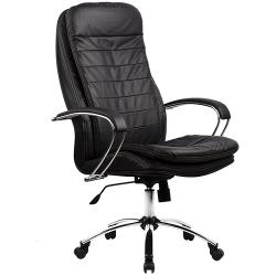 Кресло руководителя Metta LK-3 (пятилучье — хром)