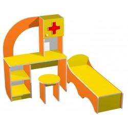 """Больничка """"Пилюлькин"""" (набор детской игровой мебели) (Серия РТ)"""
