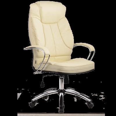 Кресло руководителя Metta LK-12 (пятилучье — хром)