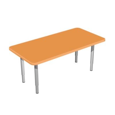 Стол детский регулируемый «Амелия» прямоугольный 1200*450 (Серия РТ)