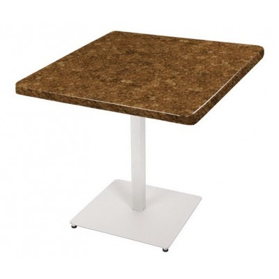 Стол 90х90 квадратый на подстолье Титан-2