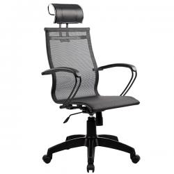 Кресло SkyLine S-2 (B,Pl) с подголовником