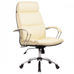 Кресло руководителя Metta LK-15 (пятилучье — хром)