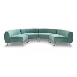 Офисный диван без подлокотников «Фолд»