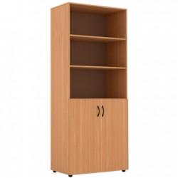 Шкаф широкий полуоткрытый 854 x 450 x 2010 (Серия В)