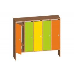 Шкаф детский для раздевалки «Классика» (Серия РТ)