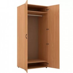 Шкаф для одежды глубокий 850 x 560 x 2010 (Серия В)