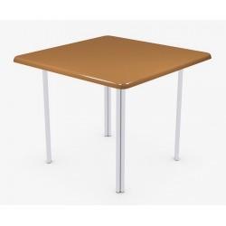 Стол 90х90 квадратый на подстолье Квадро