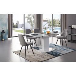 Стол DT2017-6 white (120см) Стул SKY8764