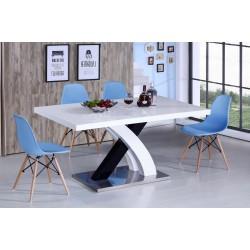 Стол DT75 Стул Y971 blue