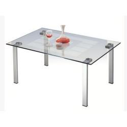 Журнальный стол Квадро-23 алюминий