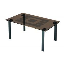 Журнальный стол Квадро-23 чёрный
