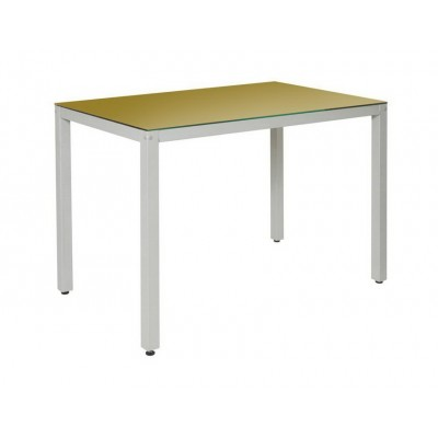Стеклянный обеденный стол Гладиатор
