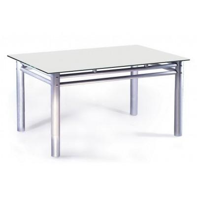 Стеклянный обеденный стол Рекорд-4м