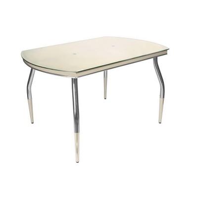 Стеклянный обеденнй стол Галант