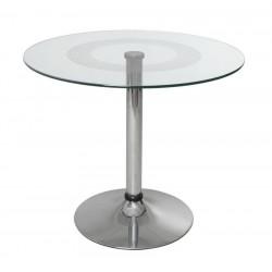 Стеклянный стол Рондо 80