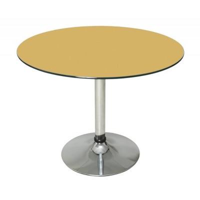 Стеклянный стол Рондо 90