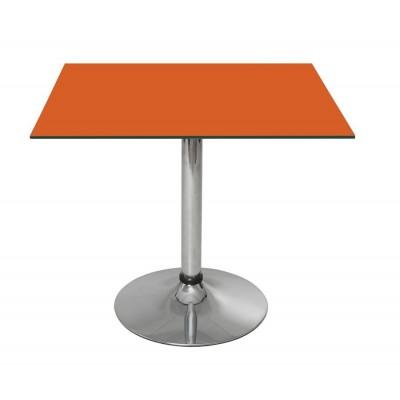 Квадратный стеклянный стол Квадро-80