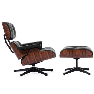 Дизайнерское кресло Eames Style Lounge Chair & Ottoman