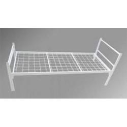 Металлическая кровать бытовая (эконом)  1900*700-800-900*640