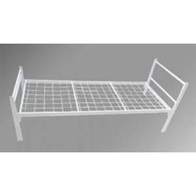 Металлическая кровать бытовая (эконом)  1900 x 700-800-900 x 640