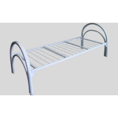 Металлическая кровать бытовая «Стандарт 2»  1900 x 700-800-900 x 780